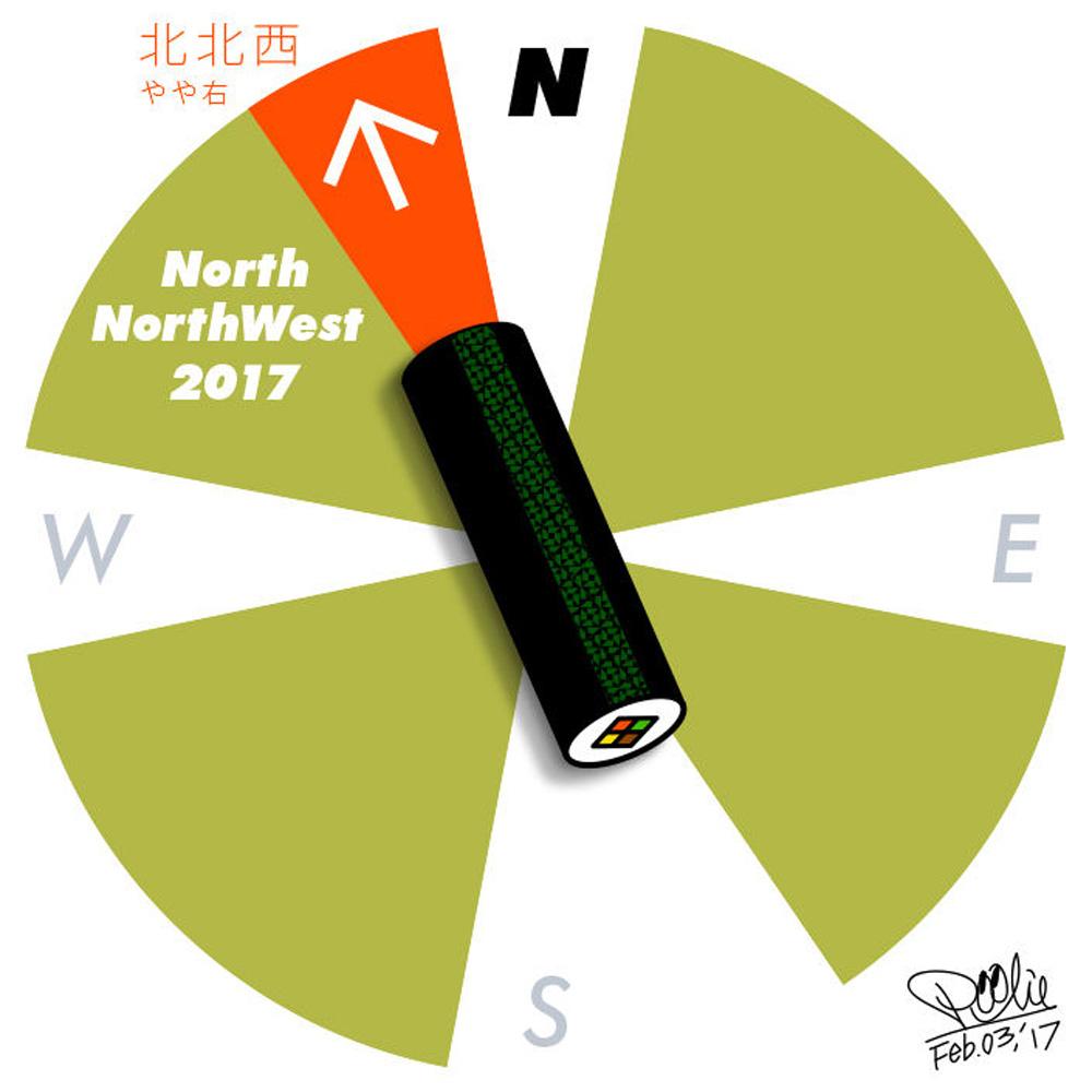 2017恵方イラスト
