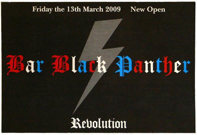 Bar Black Panther