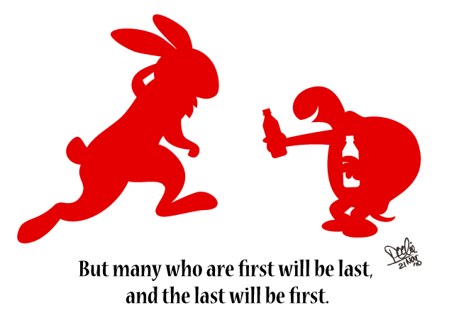 last will be first